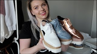 Chatty Luxury Unboxing + Stella McCartney Elyse Platform Haul (3 pairs!) + Initial Thoughts