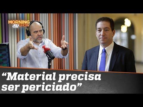 """Alexandre Borges: """"Tenho reservas a esse material do Intercept"""""""
