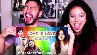 GIRLIYAPA | LOVE IS LOVE | Nidhi Singh | Reaction!