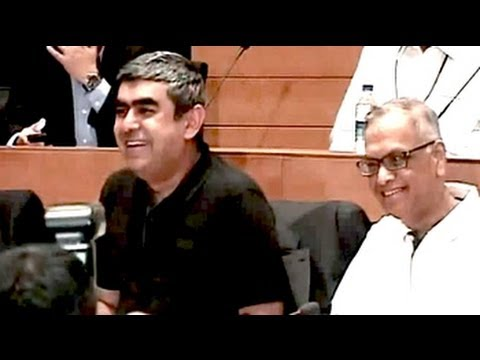 Infosys welcomes new CEO Vishal Sikka