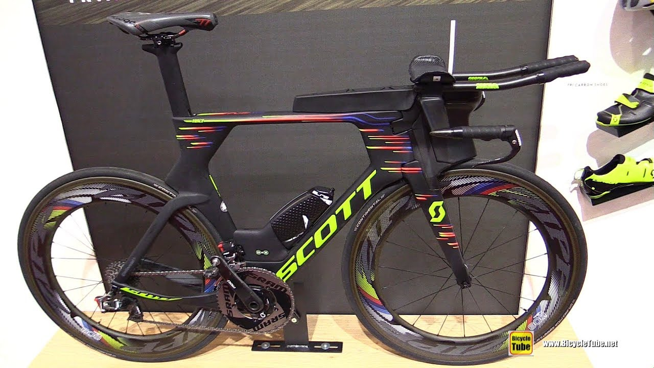 scott triathlon cykel