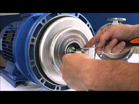 EBARA_ Serie 3S Mechanical Seal Disassembling_eng - YouTube