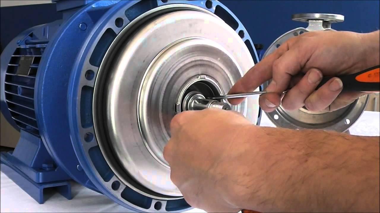 Ebara Serie 3s Mechanical Seal Disassembling Eng Youtube