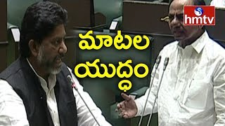 War of Words Between CM KCR and Bhatti Vikramarka | TS Budget Session | hmtv Telugu News