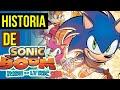 JOGO QUE FALIU o SONIC 😨| HISTORIA Sonic BOOM Rise of Lyric