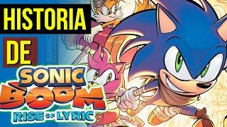 JOGO QUE FALIU o SONIC 😨  HISTORIA Sonic BOOM Rise of Lyric