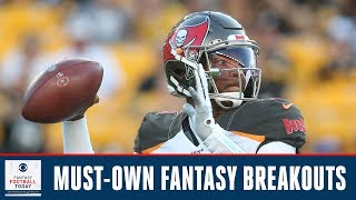 Absolute MUST-OWN fantasy breakout players in 2019  | Fantasy Football Today