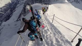Aiguille du Midi Arete Chamonix 2016