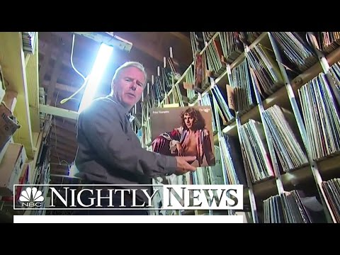 Going Old School: Vinyl Records Make a Comeback | NBC Nightly News