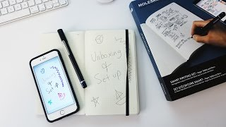 Moleskine Smart Writing Set Review and Setup