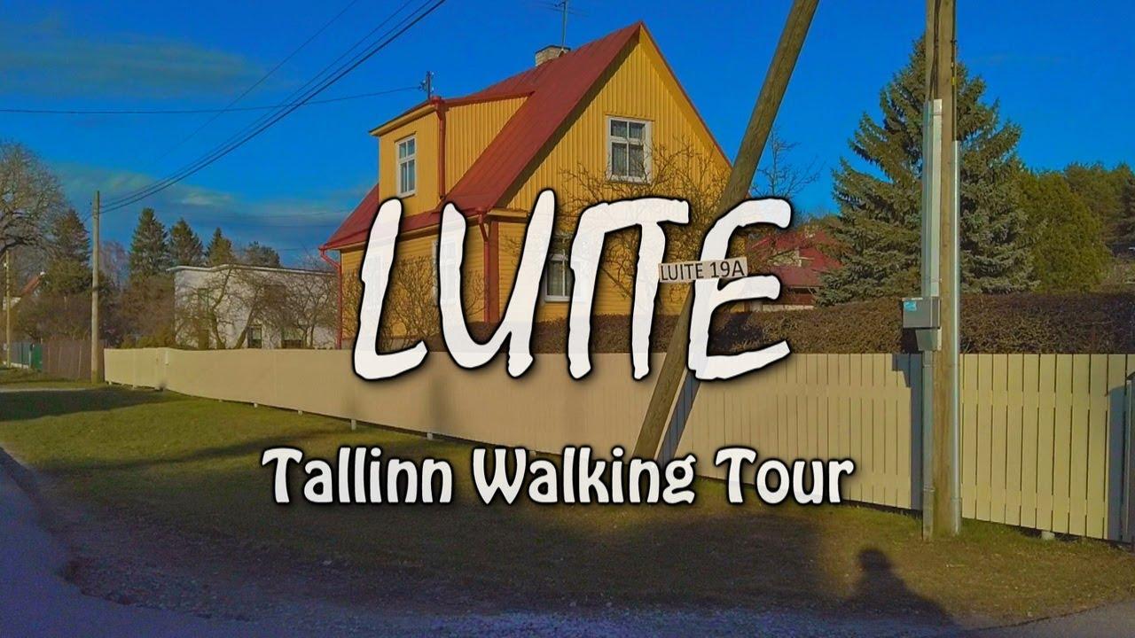 Tallinn Walking Tour | LUITE Subdistrict | Viadukti ► Leete ► Suitsu ► Luite ► Auru Streets