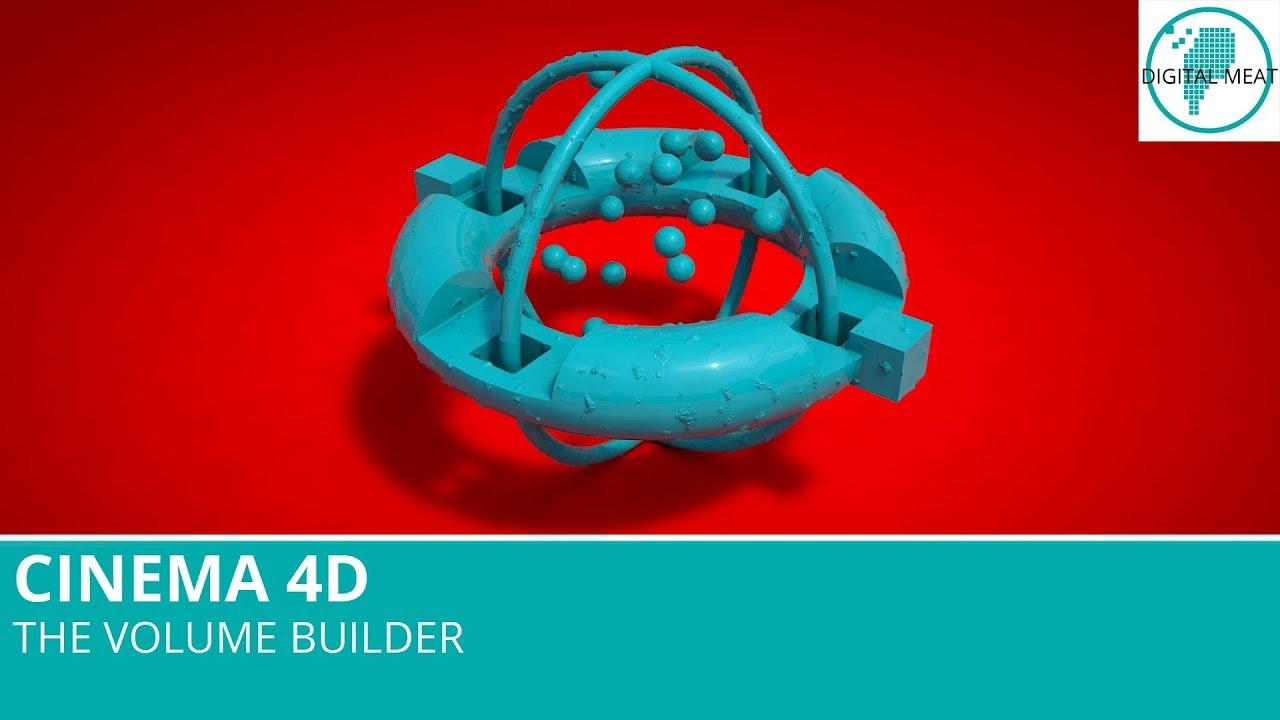 Cinema 4D: The Volume Builder