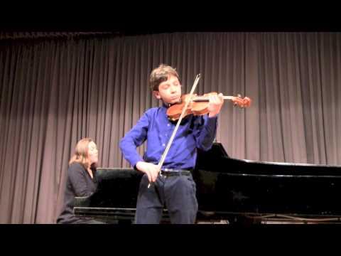 Violin Recital - Seitz violin concerto No. 3
