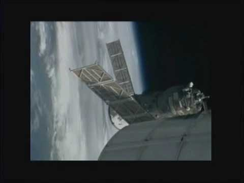Progress 47 Re-docks to Space Station | NASA ISS Russian Cargo Ship Pirs Docking Video