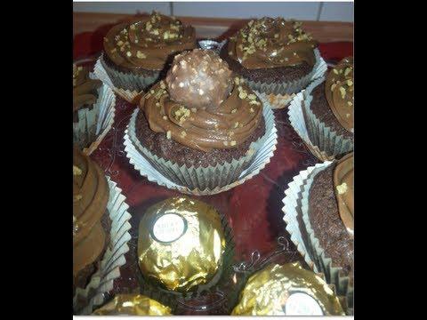 Sallys Ferrero Rocher Cupcakes Youtube