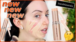 HYDRATING STICK FOUNDATION? New Bare Minerals Complexion Rescue! {First Impression Review & Demo!}