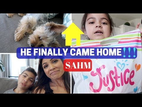 DAY IN THE LIFE VLOG | STAY AT HOME MOM | HE FINALLY CAME BACK HOME