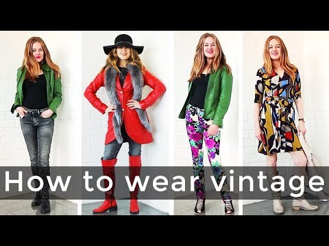 How to wear vintage and not look old for women over 40 - over 40 style