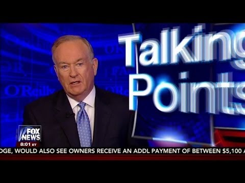 The O'Reilly Factor Talking Points - Fox News HD LIVE ...