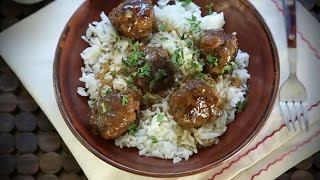 Beef Recipes - How to Make Sweet and Sour Meatballs