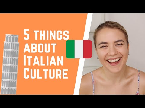 5 Interesting Things About Italian Culture | Let's Take A Walk | Episode 3