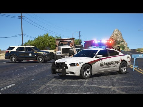 LSPDFR - Day 760 - Route 1 has shut down