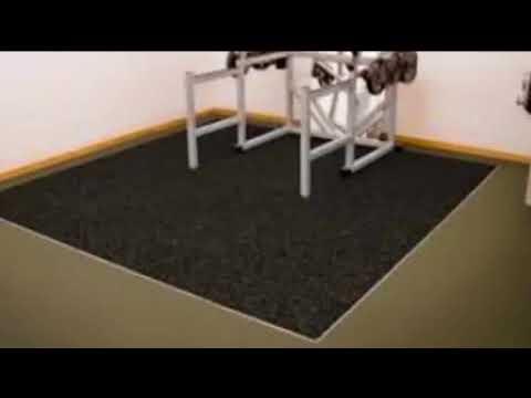 Gym Flooring - Gym Flooring For Basement   Stylish Modern Interiors & Design Decor