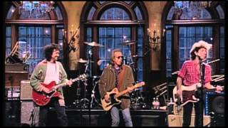 Dave Grohl playing with Tom Petty and the Heartbreakers on SNL    [Runnin' Down A Dream]