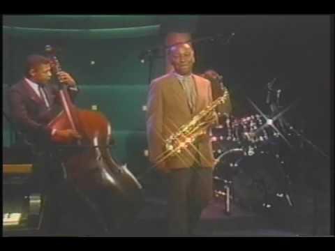 Frank Morgan with Ronnie Burrage