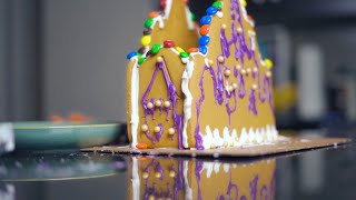 Epic Frozen Gingerbread Castle!