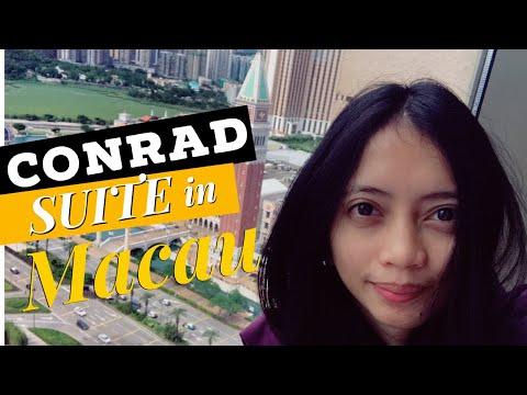Conrad Hotel Penthouse Suite Upgrade in Macau
