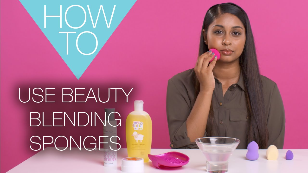How To Use a Beauty Blending Sponge | HOW TO MAKEUP TUTORIAL