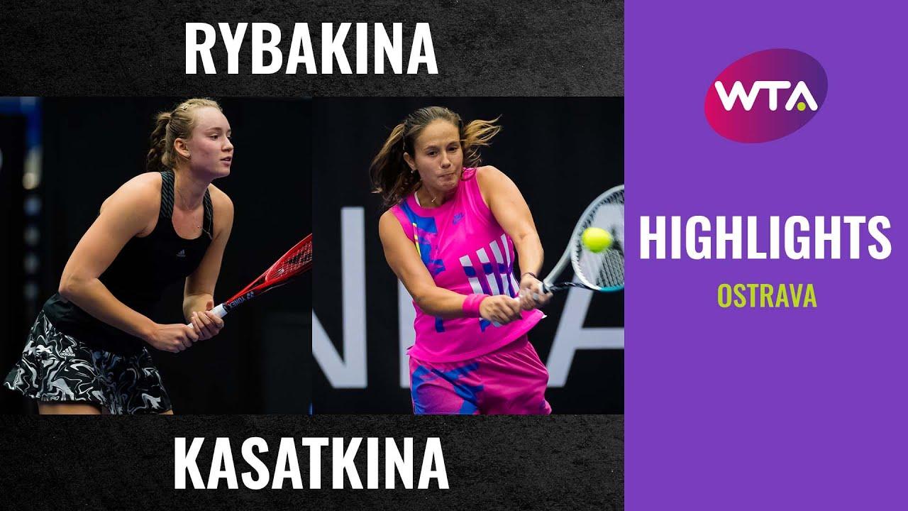 Elena Rybakina vs. Daria Kasatkina | 2020 Ostrava First Round | WTA Highlights