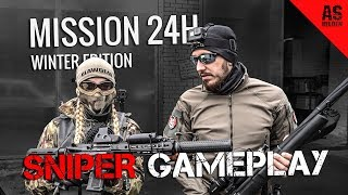 Mission 24H VLOG + Airsoft Sniper Gameplay [ENG SUBTITLES]