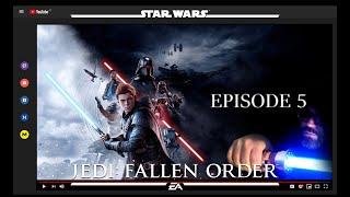 STAR WARS JEDI FALLEN ORDER Gameplay Walkthrough Parte 5  - 60FPS PT/BR