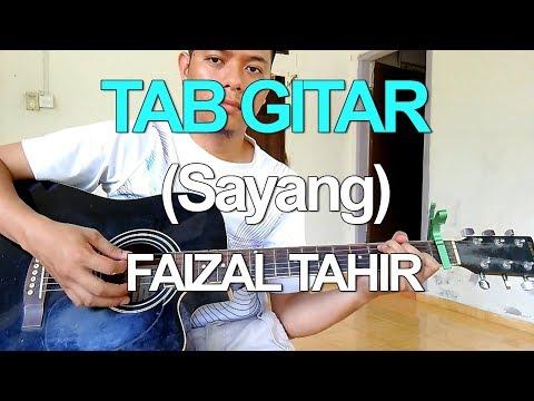Tutorial Gitar - Faizal Tahir Sayang [Easy chord]