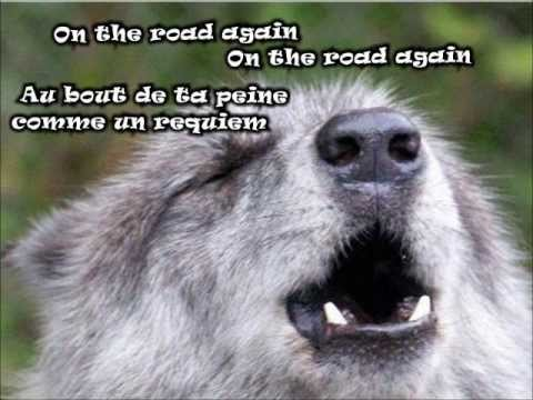 ♪ Richard Séguin ~ L'ANGE VAGABON ~ ♥ ~ (ON THE ROAD AGAIN) ♥ paroles