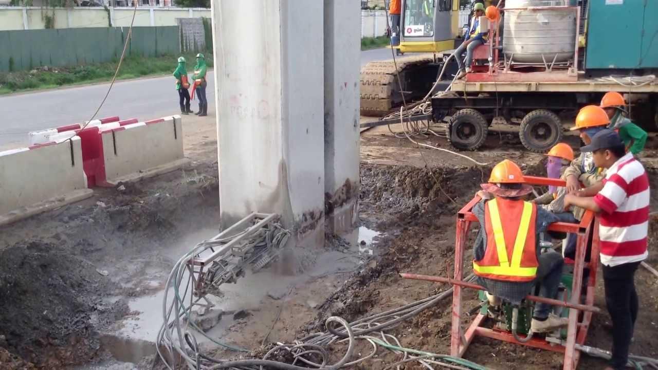 video of concrete wire saw machine - YouTube