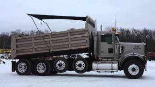 2000 Kenworth W900 Quad Axle Dump Truck