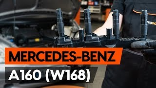How and when to replace Ignition Coil MERCEDES-BENZ A-CLASS (W168): video tutorial