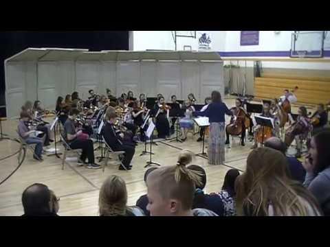 North Ogden Junior High Orchestra - Ancient Ritual by Elliot Del Borgo