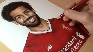 Drawing Mohamed Salah - Liverpool
