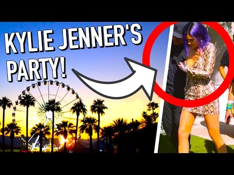 We Went To Kendall And Kylie Jenner's Party! Coachella Day 2!