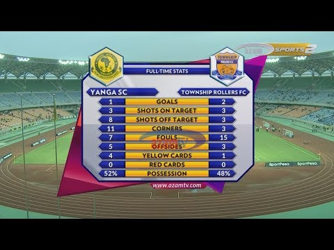 HIGHLIGHTS: YANGA SC 1-2 TOWNSHIP ROLLERS, CAF CHAMPIONS LEAGUE - 06/03/2018)