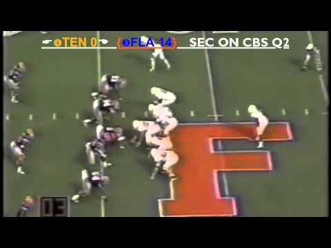 1997 #3 Florida Gators vs. #4 Tennessee Volunteers