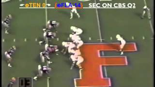 1997 #3 Florida Gators vs. #4 Tennessee Volunteers