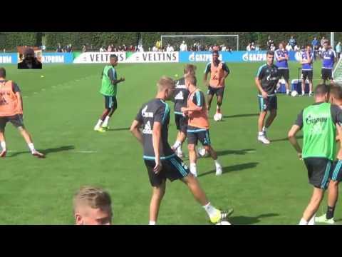 Schalke Training mit Johannes Geis [ 17.07.2015 ]