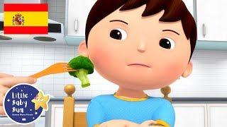 Canciones Infantiles | ¡No, no, no! Verduras | Dibujos Animados | Little Baby Bum en Español