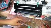 How to clean Kyocera Toner Unit – Developer unit FS-1135MFP DV-1140E