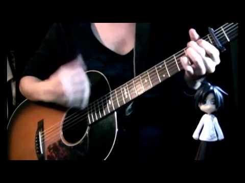 ClariS  Connect on guitar  Osamuraisan Mahou Shoujo Madoka Magika コネクト